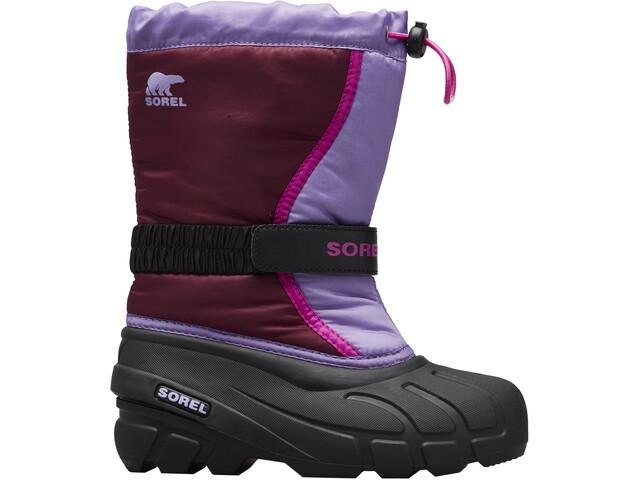 Sorel Flurry Bottes Enfant, purple dahlia/paisley purple